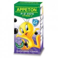 APPETON A-Z VITAMIN C BLACKCURRANT X 2 botlles