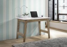 S+ Cevo Table (White/Light Oak)