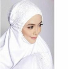 Telekung Aisyah Suci Inspired by Siti Khadijah