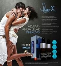 Phero-X-Perfume For Men Pewangi Pemikat Wanita