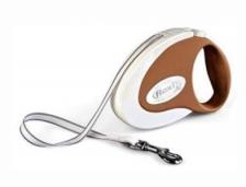 Flexi COFM5 Collection Coffee Retractable Tape Leash (Medium) 5M (Random Color)