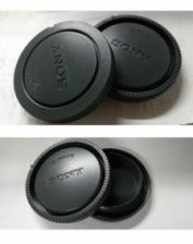 Rear Lens Cap and Camera Front Body Cover for Sony E-Mount NEX-3 NEX-5
