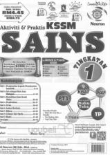 Neuron Aktiviti & Praktis KSSM Sains Tingkatan 1