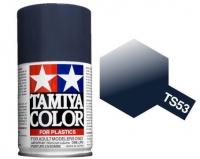 Tamiya Deep Metallic Blue Paint Spray TS-53