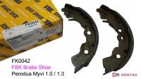 FBK Brake Shoe - Perodua Myvi 1.0 / 1.3 (FK0042)