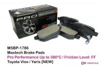 Mastech Pro Brake Pad - Toyota Yaris / Vios [New] [R] - MSBP-178