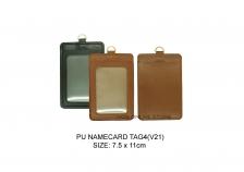 Vertical PU Namecard Tag 4 (V21)