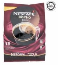 Nescafe Kopi-O Premix Coffee 15 Sticks x 16g