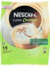 Nescafe Latte Coconut Premix Coffee 15 Sticks x 30g