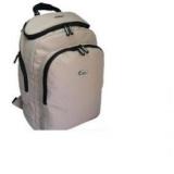 """Hugger Toploader 14.1"""" Laptop Backpack-Beige"""