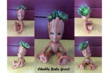 Chubby Baby Groot Vase