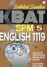 SASBADI Seleksi Soalan KBAT SPM Form 5 English 1119