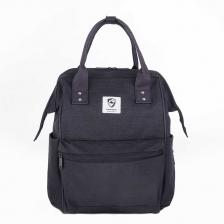 Princeton Prestige Series Mommy Diaper Bag - Black (FREE GIFT worth RM 20)