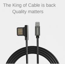 Remax RC-054i Emperor IOS Lightning USB Data 'L' Ergonomic tip Cable
