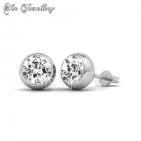 7 Days Moon Pendants Set + 7 Days Moon Earrings Set Bundle Embellished with Crystal from Swarovski
