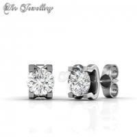 Caring Set Embellished with Crystal from Swarovski