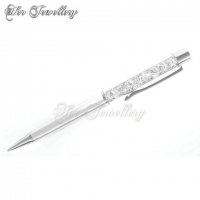 Crystal Pen (Silver)