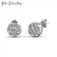 Elegant Travel Set Embellished with Crystal from Swarovski