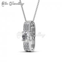 Luxx Set Embellished with Crystal from Swarovski