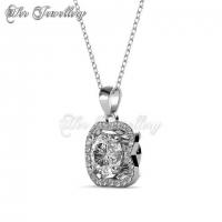 Royal Clover Set Embellished with Crystal from Swarovski