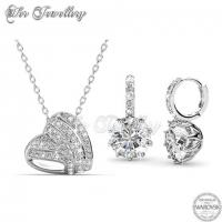 Tingle Love Set Embellished with Crystal from Swarovski