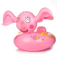 Baby Swim Ring Cute Cartoon Elephant Shape Kids Inflatable Water Pool Float
