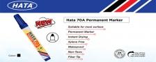 HATA 70 PERMANENT MARKER @ 12PCS