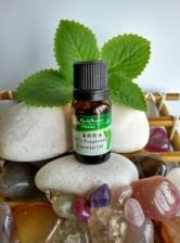 100% Pure Peppermint Essential Oil (10ml)- Calming Mind & Body
