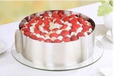 DIY Bakery Round 6-12 Inch Adjustable Cake Mould Cake Ring