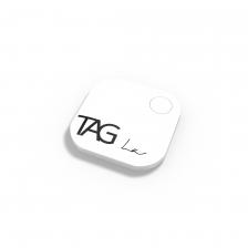 TAG La Bluetooth Tracker Key Finder Item Finder Anti lost alarm device for Security-Key Locator, Wallet Tracker, Phone Finder, Selfie Remote (WHITE)