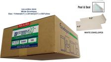 """White Envelope - Non Window - 4.5"""" x 9.5""""(500's)"""