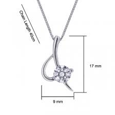 Kelvin Gems Girl's Premium Eternal Blade Pendant Necklace