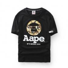 AAPE 'Ape Camo Classics Logo' Black T-Shirt DESERT CAMO