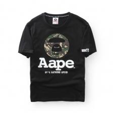 AAPE 'Ape Camo Classics Logo' Black T-Shirt CAMO