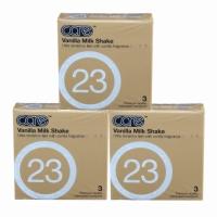 3 Boxes Care 23 - The Vanilla Milkshake Condom / Kondom 3pcs