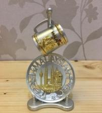 Twin Tower Malaysia Iconic City Mug and Plate Miniature Set Souvenir