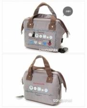{JMI} E&D Iconic Canvas Lunch Bag - ED10