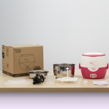 Lotor Single Layer Lunch Box (Pink) (1.3L)
