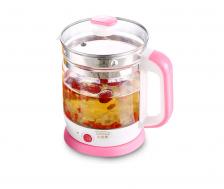 Lotor Digital Multi Purpose Tea Pot / Flower Tea Pot (Pink)