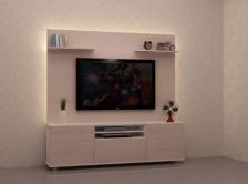 Kabinet TV Murah Quality Terbaik 6 FT model ALPINA PLUS 2 Gerenti Beli Punya