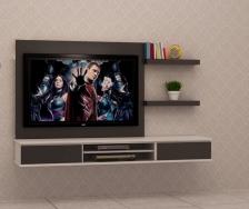 Kabinet TV Murah Quality Terbaik 6 FT model FELICIA-B Gerenti Beli Punya