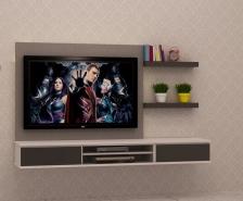 Kabinet TV Murah Quality Terbaik 6 FT model FELICIA-E Gerenti Beli Punya