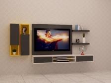 Kabinet TV Murah Quality Terbaik 6 FT model FELICIA1 Gerenti Beli Punya
