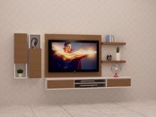 Kabinet TV Murah Quality Terbaik 6 FT model FELICIA2 Gerenti Beli Punya