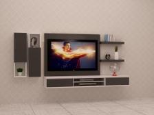Kabinet TV Murah Quality Terbaik 6 FT model FELICIA3 Gerenti Beli Punya