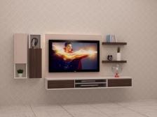 Kabinet TV Murah Quality Terbaik 6 FT model FELICIA4 Gerenti Beli Punya