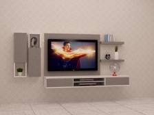 Kabinet TV Murah Quality Terbaik 6 FT model FELICIA5 Gerenti Beli Punya