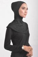 Anak Tudung Ninja Biasa (L) Black