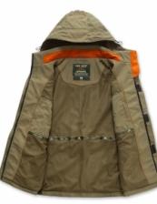 AFS JEEP Western Design Men Long Sleeve Outdoor Camping Jacket Coat