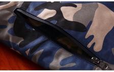 Korean Fashion Men Hooded Camouflage Winter Jacket Coat